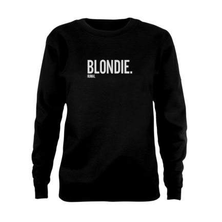 blondie sweater zwart rumag