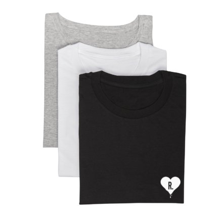 t-shirts dripping heart