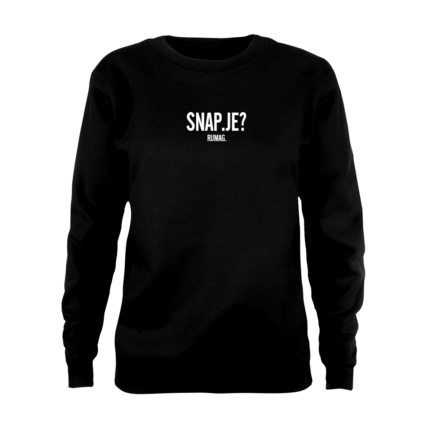 RUMAG Sweater Snap je?