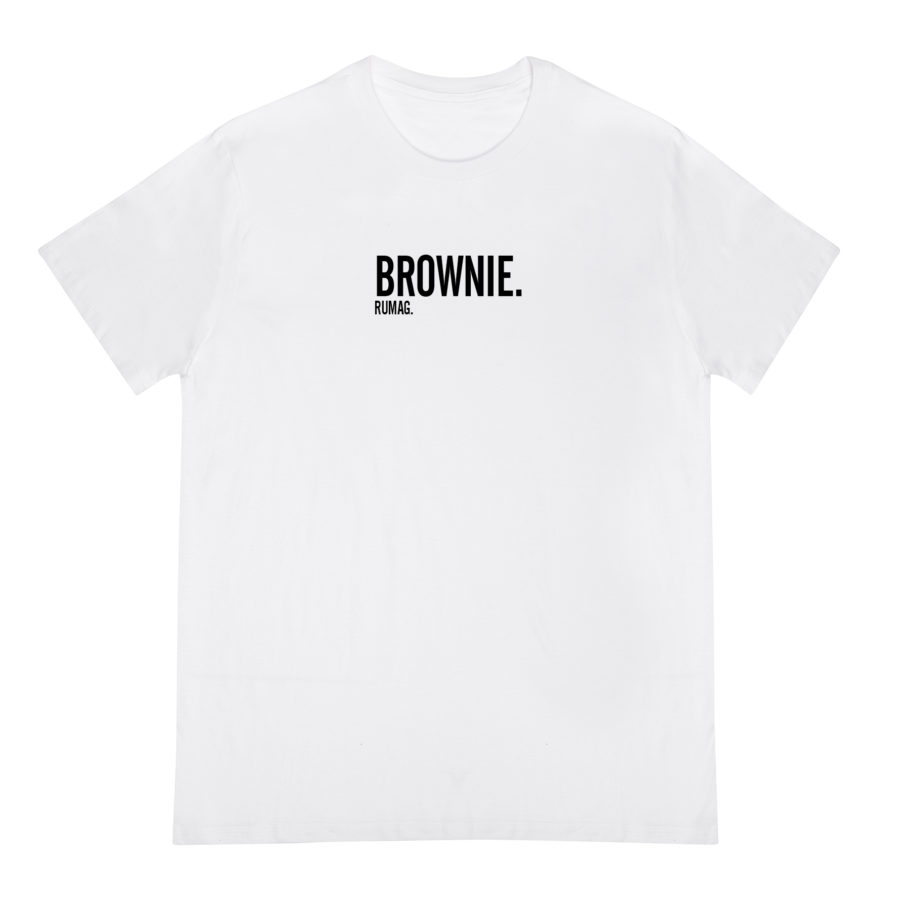 brownie tee wit