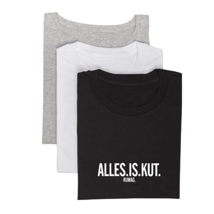 alles is kut t-shirt alle kleuren