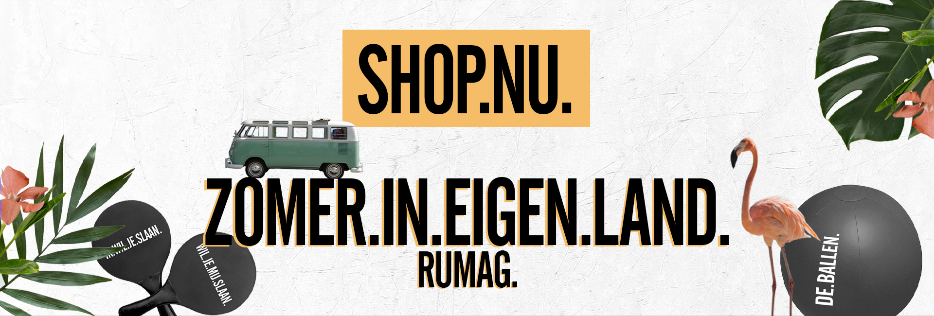 Zomer in eigen land home header
