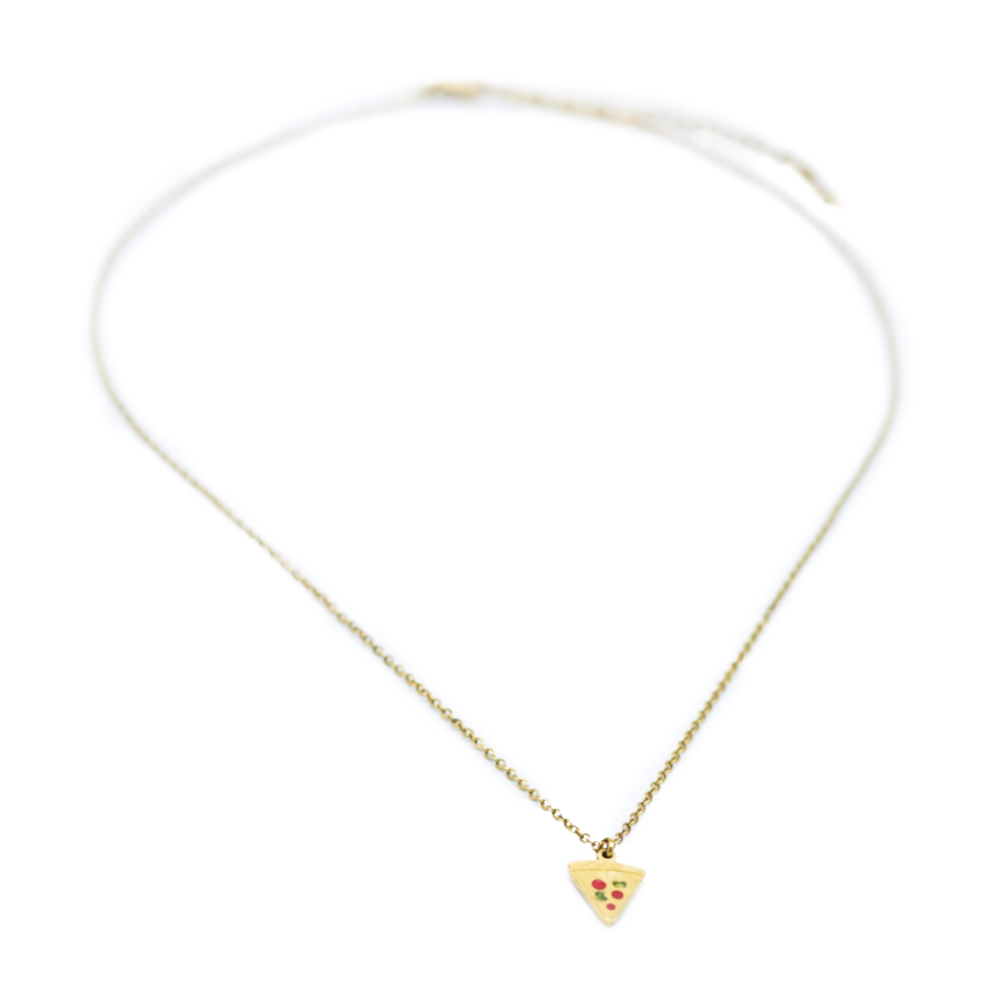 Gouden ketting Pizza perfect