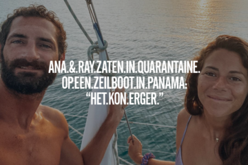quarantaine zeilboot